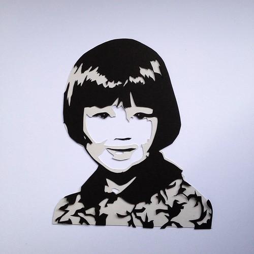Hannah Miles - Self Portrait as a Child