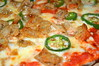 Spicy Pork and Green Chilli Pizza