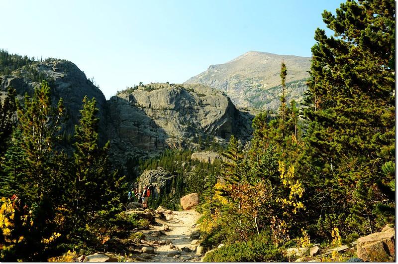 Glacier Gorge trail 1