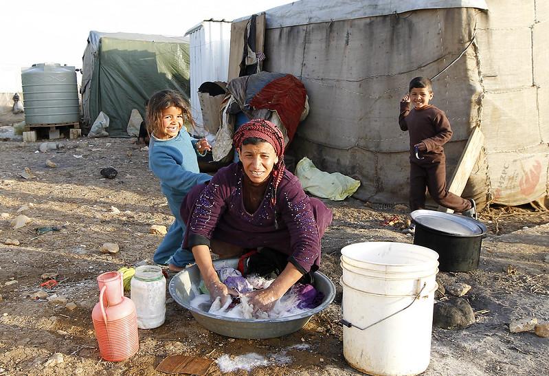 LEBANON SYRIAN REFUGEE CAMP