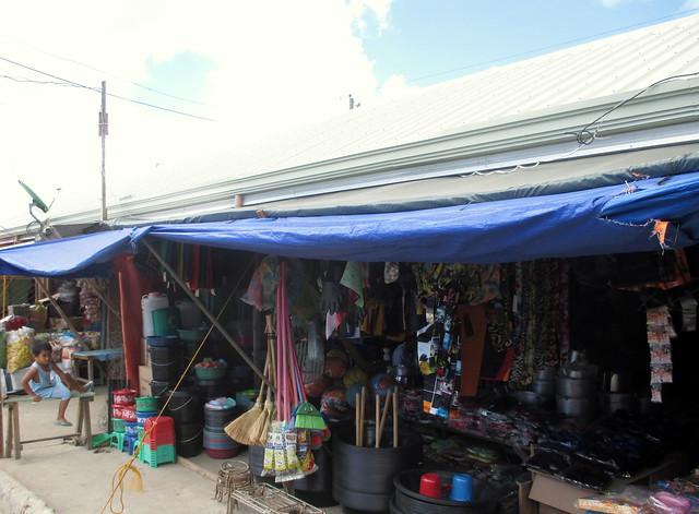 The newly-rehabilitated Guian public market