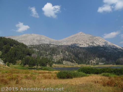 Looking toward the north end of Big Sandy Lake, Wind River Range, Wyoming