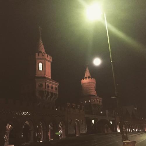 Castle bridge leaving the venue #berlin