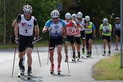 Martin Jakš zdolal na kolečkových lyžích Ještěd nejrychleji a má další mistrovský titul