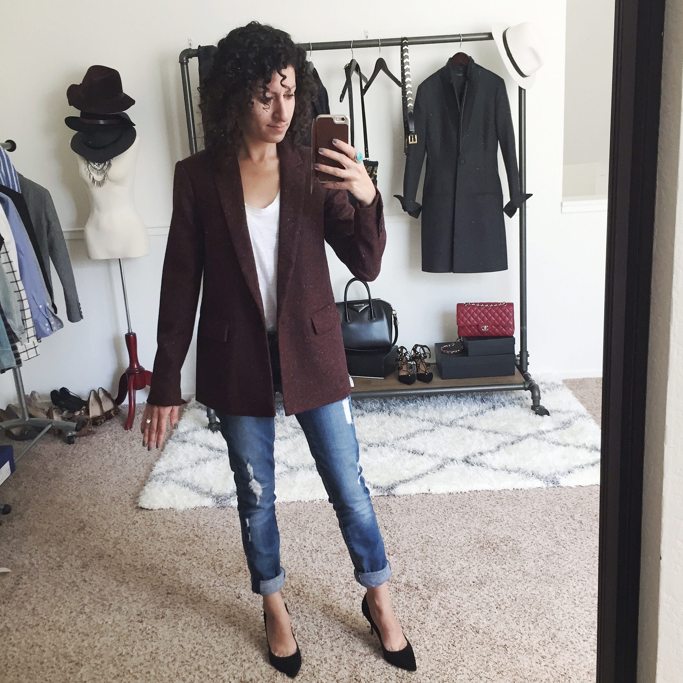 petite fit review banana republic blazer