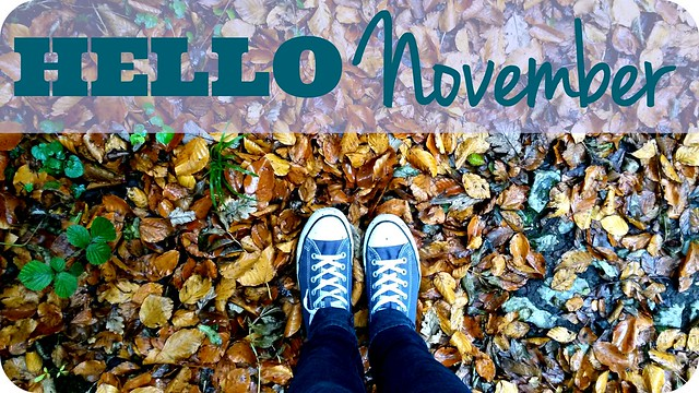 Hello November! Converse In Autumn Leaves