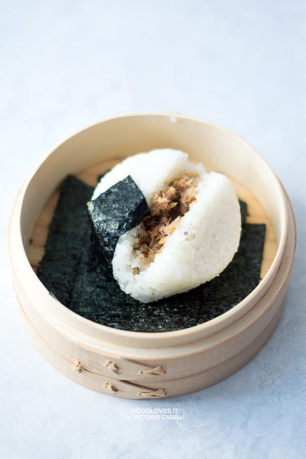 Onigiri Sushi fatto in casa