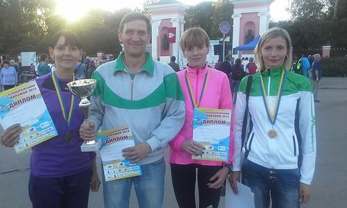 Рівненські марафонки окупували п'єдестал