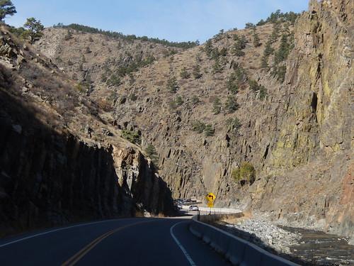 Canyon naar Rocky Mountain NP