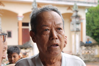 The last living man from my paternal grandfather's village who still remembers him