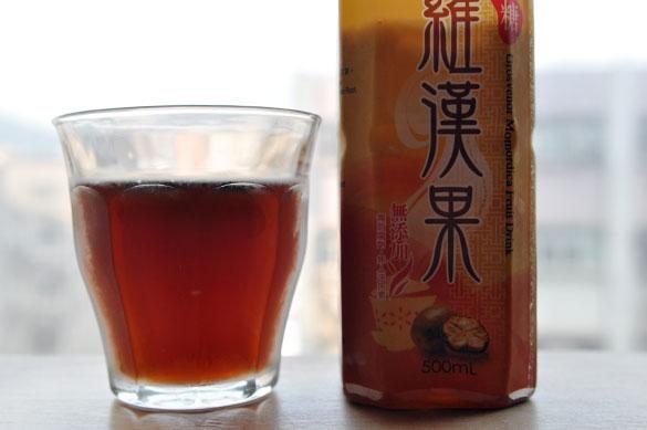 羅漢果 - 香港で漢方飲料を飲み比べ