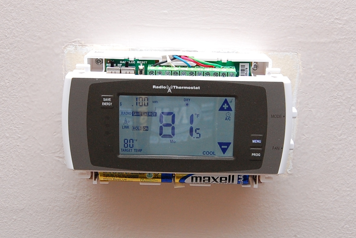 Radio Thermostat CT-50 Review and install | LowPowerLab