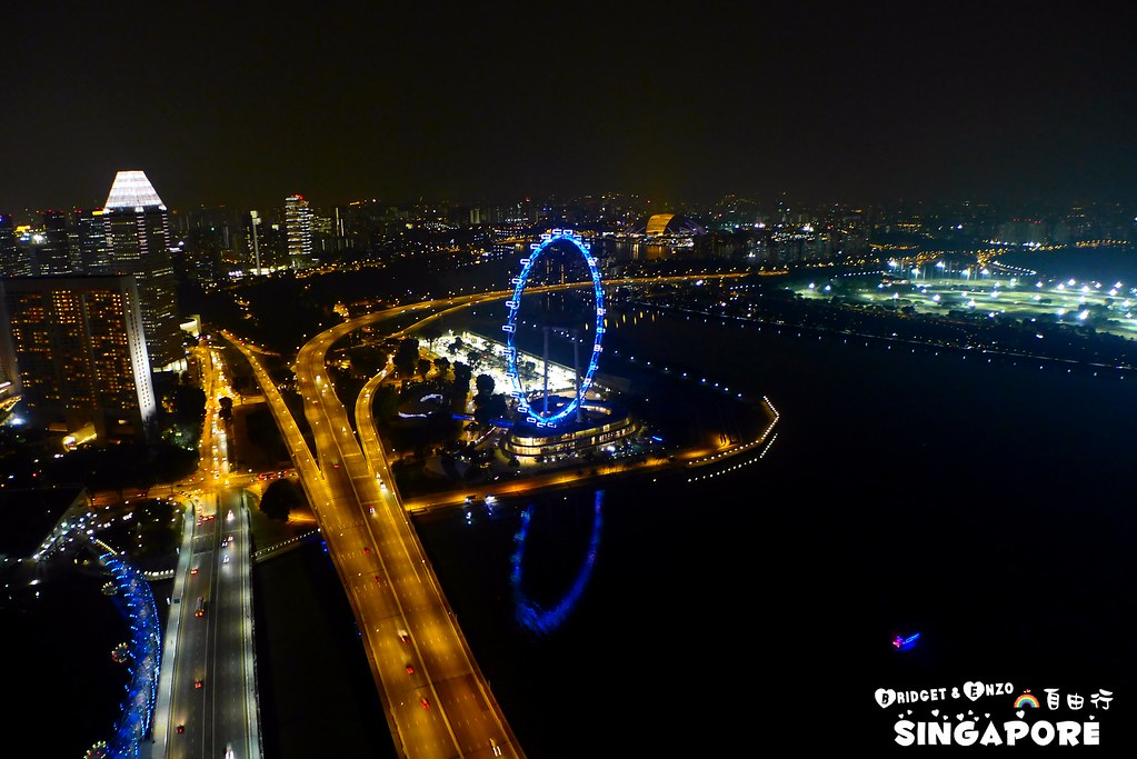 SANDS SKYPARK夜景7