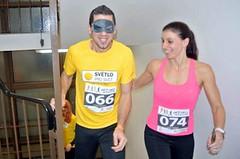 Originální běžecký nápad vynesl sto tisíc pro nevidomé