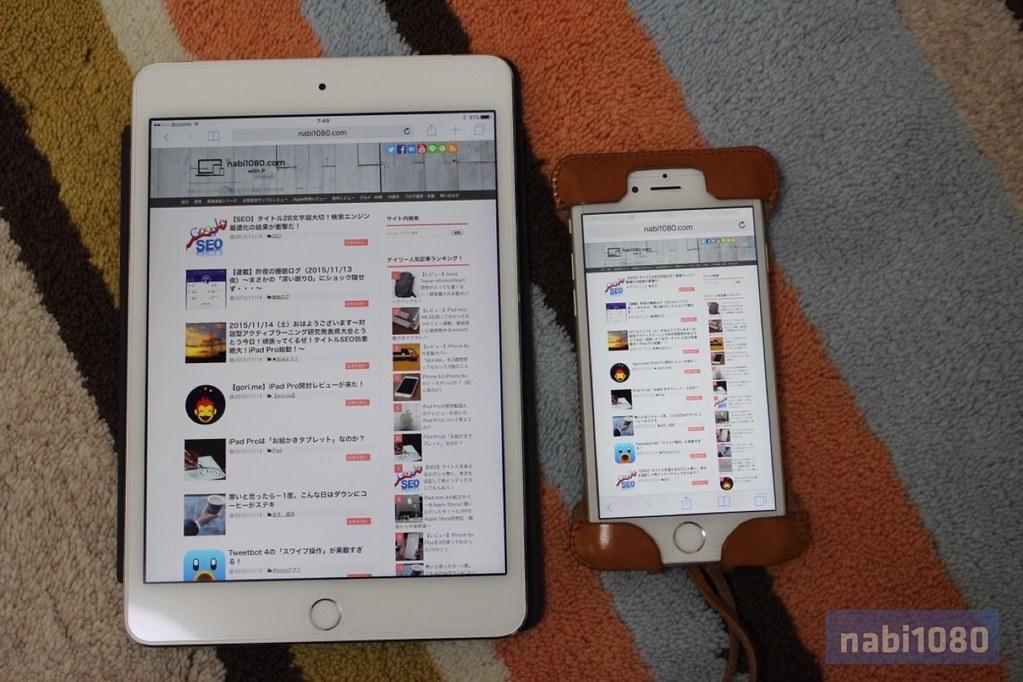 iPad mini 4 1ヶ月17