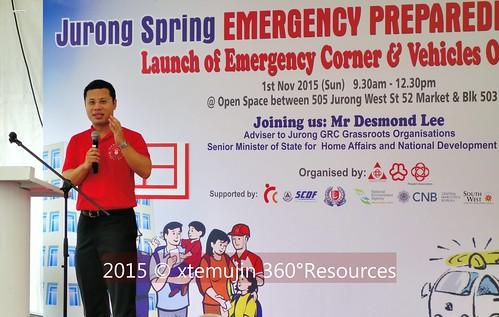 2015 NOV Emergency Preparedness Day, Jurong Spring, Singapore