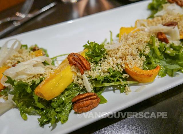 Village Bistro/Squash and quinoa salad