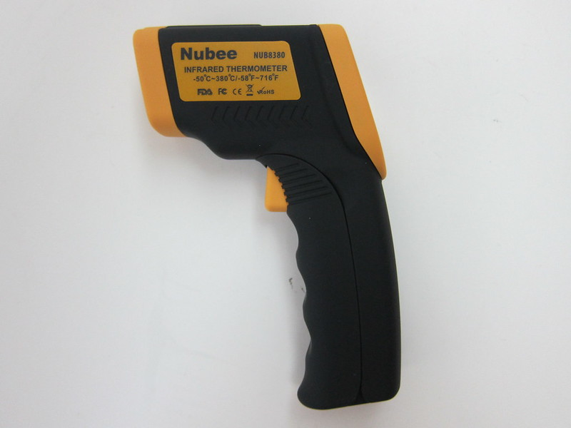 Nubee NUB8380 Temperature Gun - Left