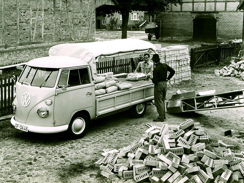 Пикап Volkswagen T1 Single Cab Pickup