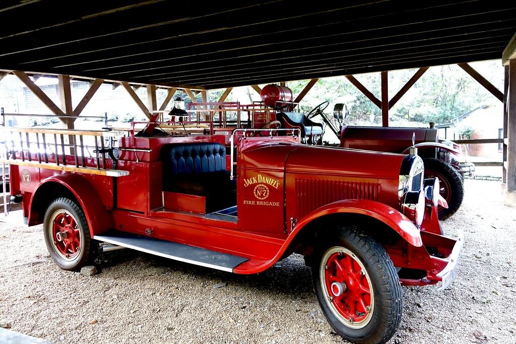 Jack Daniels Fire Brigade, Jack Daniels Tour, Lynchburg, Tennessee