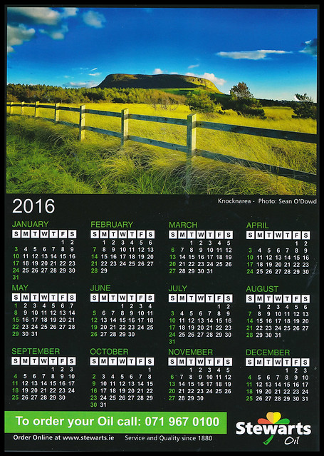 Stewarts Calendar 2015