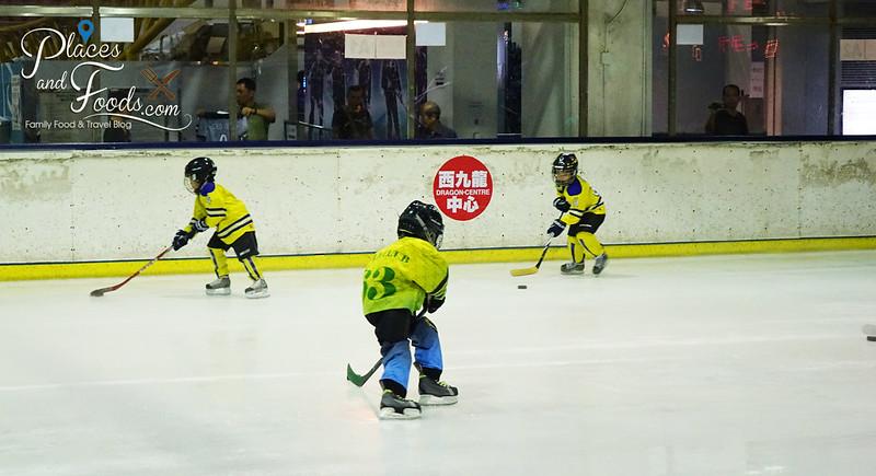 dragon centre sky rink ice hockey kids