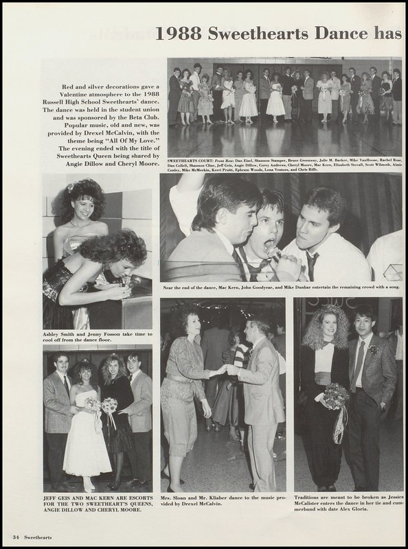 Greenup County Public Libraries 1988 Russell High School Yearbook