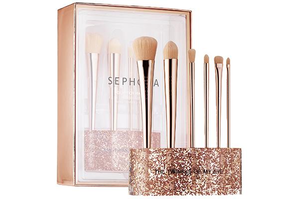 Sephora Collection Glitter Happy Brush Set