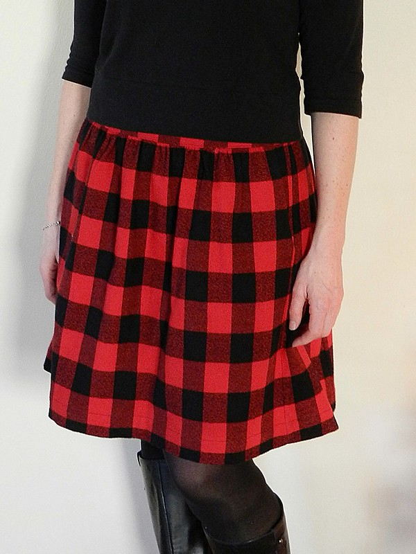 Buffalo Plaid Everyday Skirt – Fa Sew La