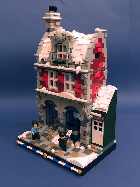 Winter Post Office