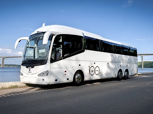Туристический автобус Irizar Scania i6 6x2. 2010 год