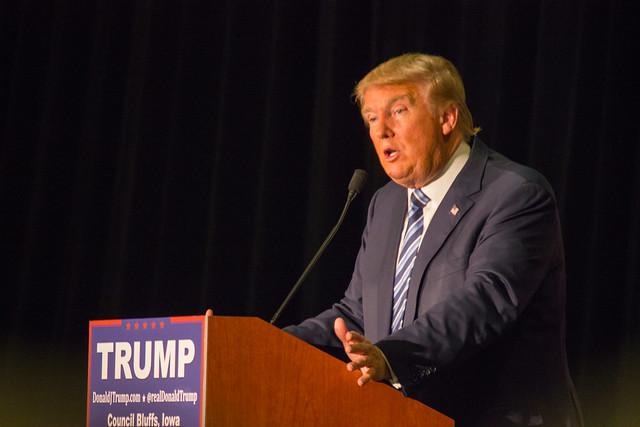 Header of Donald Trump