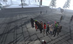 THE CONGA LINE EXPANDS