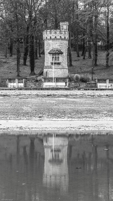 Appley Tower reflecting on the history