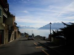Fog over Lac Léman