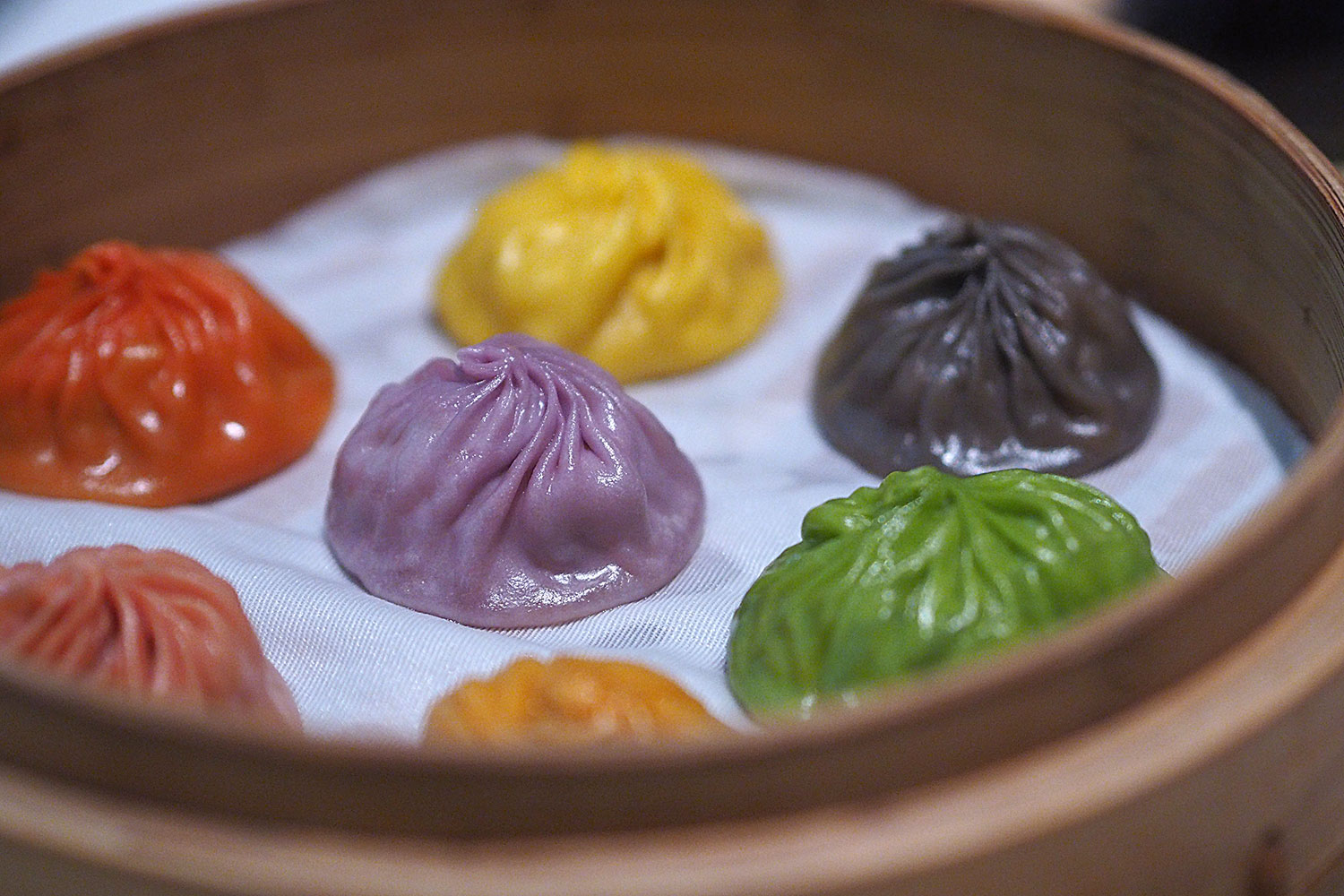 Rainbow Dumplings, Din Tai Fung, Chatswood: Sydney Food Blog Review