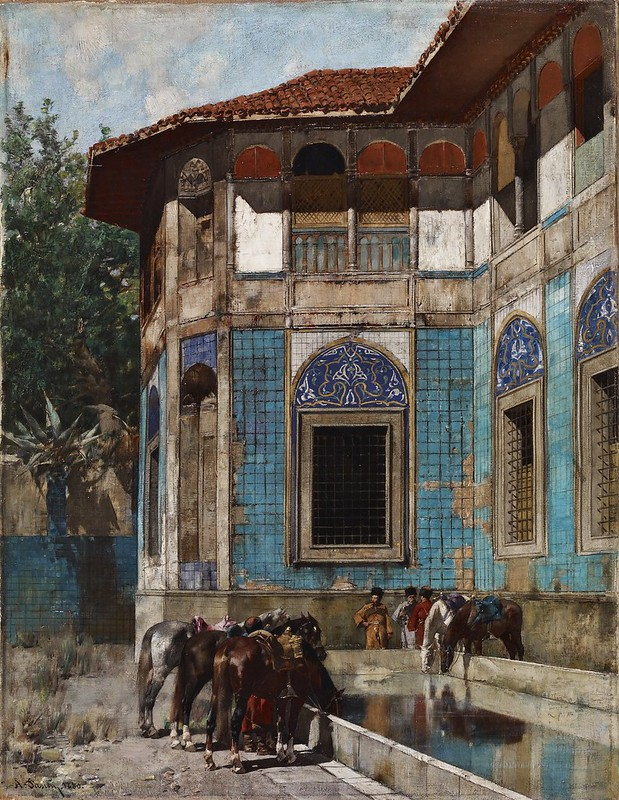 Alberto Pasini - Damascus (1880)
