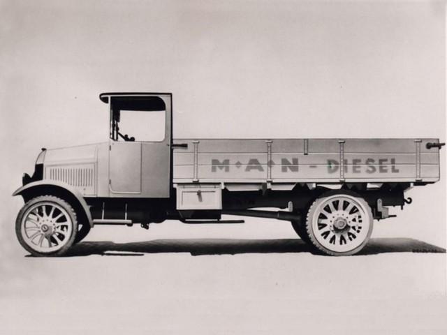 Дизельный грузовик MAN 1920-х гг.