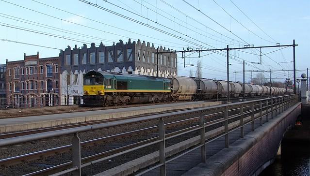 Amersfoort Koppelpoort, Dolimetrein RRF Class 66 PB06