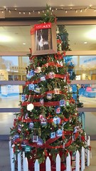 Christmas tree at Angell
