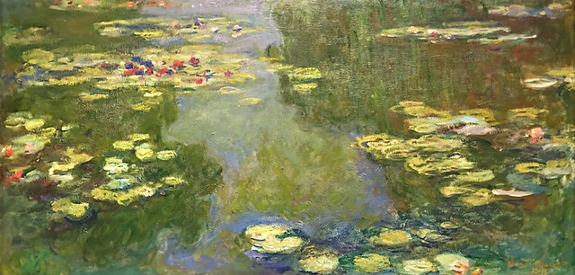 Claude Monet, The Water-Lily Pond, 1919