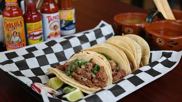 Barbacoa Tacos from La Familia Taco Co in Des Moines, Iowa