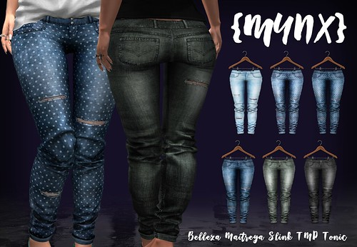 {MYNX} Ripped Jeans