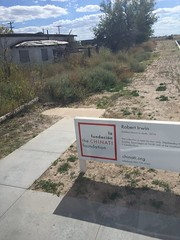 Chinati Foundation entrance