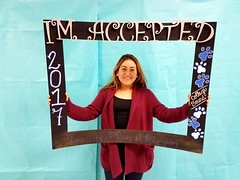 Congratulations to Clarissa Calderon who got accepted to the University of Texas at Arlington in Arlington, Texas! #CollegeBound #CollegeBoundBulldogs #Somerset2017
