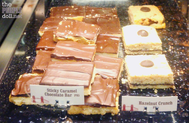 Pastries at Costa Coffee