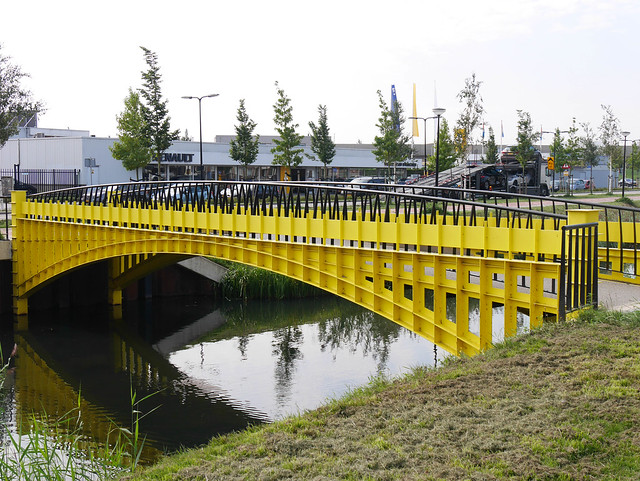 200 Euro Bridge in Spijkenisse
