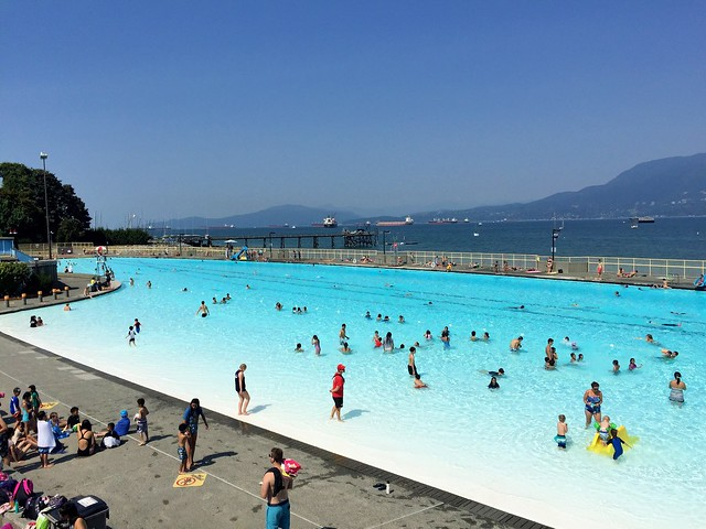 A Summer Day at Kits Pool