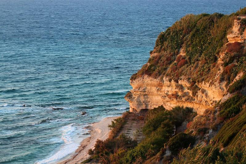 Cliffs in Calabria