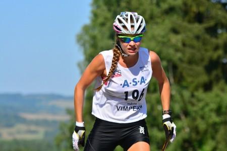 Běžkyně Andrea Klementová závodila na Šumavě – na lyžích i v krosu